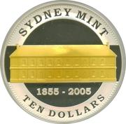 10 Dollars - Elizabeth II (Sydney Mint) -  reverse