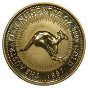 "50 Dollars - Elizabeth II (""Australian Nugget"" Gold Bullion Coinage) -  reverse"