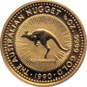 "15 Dollars - Elizabeth II (""Australian Kangaroo"" Gold Bullion Coinage) -  reverse"