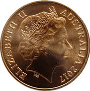 2 Cents - Elizabeth II (Stuart Devlin Exhibition) – obverse