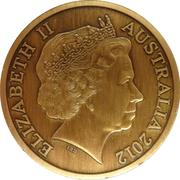 "5 Dollars - Elizabeth II (""Town Halls"" Melbourne Town Hall) -  obverse"