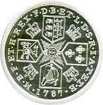 50 Cents - Elizabeth II (Proclamation Shilling Tribute) -  reverse