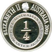 1 Dollar - Elizabeth II (4th Portrait - Port Phillip Patterns - Masterpieces in Silver) -  obverse