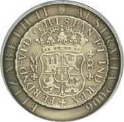 1 Dollar - Elizabeth II (4th Portrait - Spanish Pillar Dollar) -  obverse