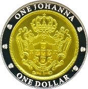 1 Dollar - Elizabeth II (One Johanna) -  reverse