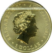 1 Dollar - Elizabeth II (4th portrait; Lachlan Macquarie) -  obverse