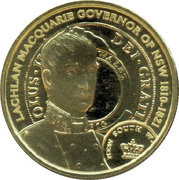 1 Dollar - Elizabeth II (4th portrait; Lachlan Macquarie) -  reverse