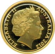 10 Dollars - Elizabeth II (4th Portrait - Wheat Sheaf Dollar) Gold Proof -  obverse