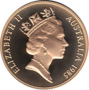 200 Dollars - Elizabeth II (3rd Portrait - Koala - Gold Bullion Coin) -  obverse