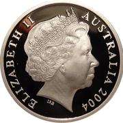 5 Dollars - Elizabeth II (AFL - Australia's Own Game) -  obverse