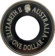 1 Dollar - Elizabeth II (4th Portrait - FIFA World Cup 2006 - Silver Proof) -  obverse