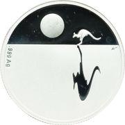 1 Dollar - Elizabeth II (Kangaroo at Sunset) -  reverse