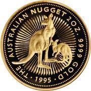 200 Dollars - Elizabeth II (Gold Nugget) -  reverse