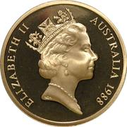 5 Dollars - Elizabeth II (Parliament House) -  obverse