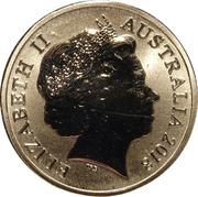 1 Dollar - Elizabeth II (4th Portrait - Commonwealth Games-Borobi Mascot) -  obverse