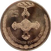 25 Cents - Elizabeth II (Distinguished Flying Cross) -  reverse