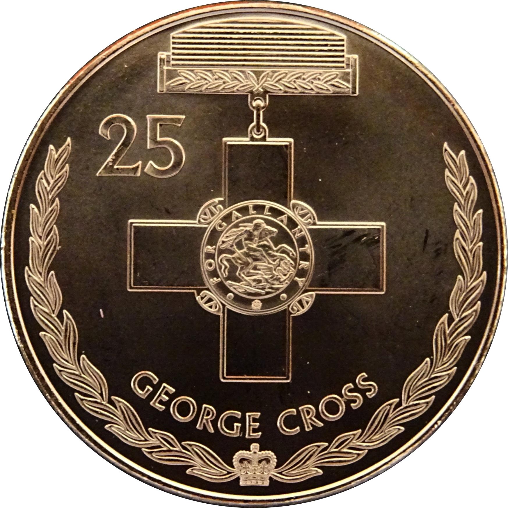 25 cents elizabeth ii george cross australia numista 25 cents elizabeth ii george cross buycottarizona Gallery