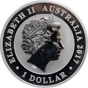 1 Dollar - Elizabeth II (4th portrait;