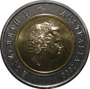 5 Dollars - Elizabeth II (Phar Lap) -  obverse