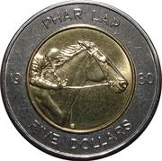 5 Dollars - Elizabeth II (Phar Lap) -  reverse