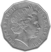 50 Cents - Elizabeth II (Australian Capital Territory) -  obverse