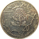 20 Cents - Elizabeth II (Centenary of Federation - New South Wales) – reverse