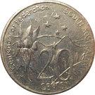 20 Cents - Elizabeth II (Centenary of Federation - South Australia) – reverse