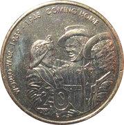 20 Cents - Elizabeth II (End of World War II) -  reverse