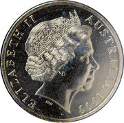 20 Cents - Elizabeth II (4th portrait) -  obverse