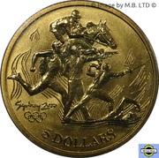 5 Dollars - Elizabeth II (4th Portrait - 03 -Modern Pentathlon) -  reverse
