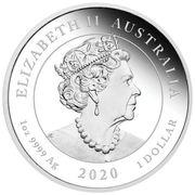 1 Dollar - Elizabeth II (6th Portrait - One Love) -  obverse
