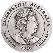 2 Dollars - Elizabeth II (6th Portrait - Year of the Mouse) -  obverse
