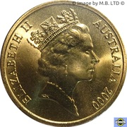 5 Dollars - Elizabeth II (3rd Portrait - 21 - Weightlifting) -  obverse