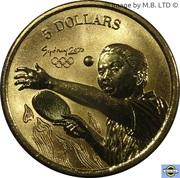 5 Dollars - Elizabeth II (4th Portrait - 23 - Table Tennis) -  reverse