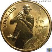 5 Dollars - Elizabeth II (4th Portrait - 27 - Baseball) -  reverse
