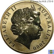 5 Dollars - Elizabeth II (4th Portrait - 2000 Paralympic Games) -  obverse