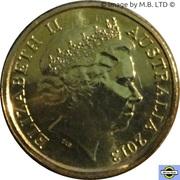 2 Dollars - Elizabeth II (4th Portrait - Coronation Jubilee) -  obverse