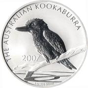 1 Dollar Elizabeth II (4th Portrait - Australian Kookaburra) -  reverse