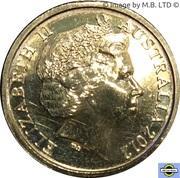 2 Dollars - Elizabeth II (4th Portrait - Remembrance Day - Plain Poppy Flower) -  obverse
