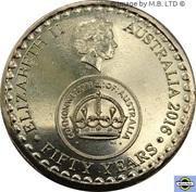 2 Dollars - Elizabeth II (4th Portrait - 50th Anniversary of Decimal Currency) -  obverse