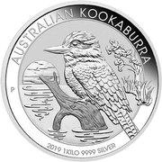 """30 Dollars - Elizabeth II (6th Portrait - """"Kookaburra"""" Silver Proof) -  reverse"""