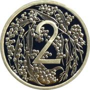 2 Cents - Elizabeth II (4th Portrait - 1966 Decimal Pattern) -  reverse