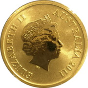 1 Dollar - Elizabeth II (4th Portrait - Gondwana Rainforests) – obverse
