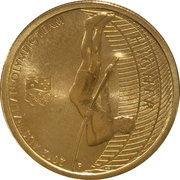 1 Dollar - Elizabeth II (4th Portrait - 2012 Australian Olympic Team - Higher) -  reverse
