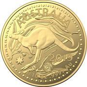 15 Dollars - Elizabeth II (4th Portrait - Gold Bullion Coin) -  reverse