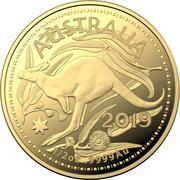 50 Dollars - Elizabeth II (4th Portrait - Gold Bullion Coin) -  reverse