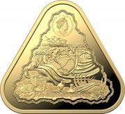 100 Dollars - Elizabeth II (6th Portrait - Vergulde Draeck - Gold Proof) -  obverse