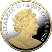 1 Dollar - Elizabeth II (6th portrait - Mob of Roos) -  obverse