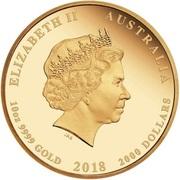 2000 Dollars - Elizabeth II (4th Portrait - The Jewelled Phoenix) -  obverse