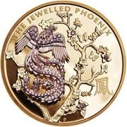 2000 Dollars - Elizabeth II (4th Portrait - The Jewelled Phoenix) -  reverse